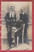 Braine-le-Comte - 3 Membres Du Comité De Secours ... 1919 ... Carte Photo ( Voir Verso ) - Braine-le-Comte