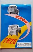 6) Meroni ERON TR 25 1961 Depliant Autocarro Originale - Genuine Truck Brochure - Prospekte - Camion