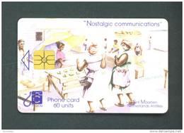 ST MAARTEN  -  Chip Phonecard As Scan - Antilles (Netherlands)