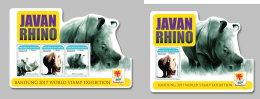 GUINEA REP. 2017 ** Javan Rhino Rhinoceros Nashorn M/S+S/S - IMPERFORATED - DH1733 - Rhinozerosse