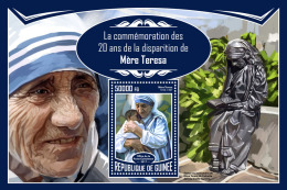 GUINEA REP. 2017 ** Mother Teresa Mutter Teresa Mere Teresa S/S - IMPERFORATED - DH1733 - Mother Teresa