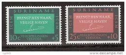 Suriname 436-437 MNH ;Vluchtelingenzegels Timbres De Refugees Sellos Refugiees Refugiados 1966 NOW SPECIAL SURINAME SALE - Suriname ... - 1975