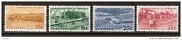 Suriname 427-430 MNH ;Brokopondo Waterkrachtcentrale 1965 NOW SPECIAL SURINAME SALE - Surinam ... - 1975