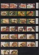 Indonesia - 36v Traditional Food/ Gastronomy/ Culinary 2004 2005 2006 2007 2008 2009 2010 2012 2015 - Alimentación