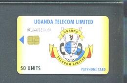 UGANDA - Chip Phonecard/UTL/50 Units - Uganda