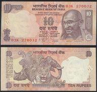India DEALER LOT ( 10 Pcs ) - 10 Rupees 2009 - UNC - India