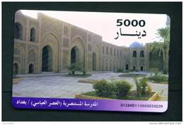 IRAQ - Chip Phonecard As Scan - Iraq