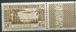 Dahomey Aérien  - Yvert N° 4 **    - Cw26116 - Dahomey (1899-1944)