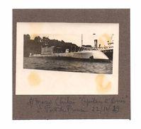 """Fort De France. Submarino . Sous-marin """"Capitan O'Brien"""" A Fort De France. Martinique. 1929. - Fort De France"""