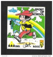 WALIBI - S.V.S. - BRT - B.O.I.C. - SPORT OP SCHOOL  (S 2265) - Autocollants