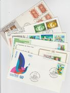 6 FDC  (1967/1979 Et 1980) - FDC