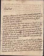 Salses Salces Le Château Pyrénées Orientales 1742 Affaire Fausse Monnaie Enquête Arrestation 2 Soldats Régiment Guyenne - Poststempel (Briefe)