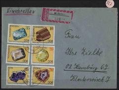 DDR  Einschreiben  Echt Gelaufen  MiNr. 2006-2011 - Lettere