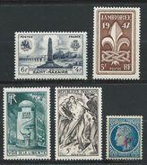 FRANCE 1947 . N°s 786 , 787 , 788 , 790 Et 791 . Neufs**  (MNH) - France