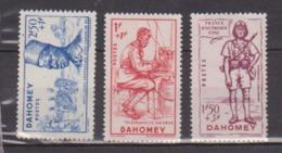 DAHOMEY               N°   142/144    NEUF AVEC CHARNIERES        ( Ch     203  ) - Nuovi