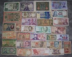 LOT De 30 BILLETS Du MONDE - N° 5 (voir Scan) - Lots & Kiloware - Banknotes