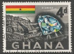 Ghana. 1959-61 Definitives. 4d Used. SG 219 - Ghana (1957-...)
