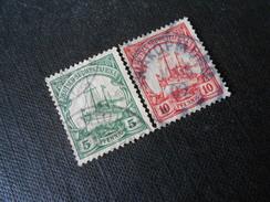 D.R.25/26a   5/10Pf   Deutsche Kolonien (Deutsch-Südwestafrika) 1906 - Mi € 2,20 - Colonia: Sudafrica – Occidental