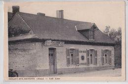 ORIGNY-SAINTE-BENOITE (Aisne) - Café De La Marine Liser - Bière-Bock La Populaire - Other Municipalities