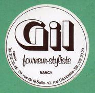 GIL FOURREUR STYLISTE NANCY  / AUTOCOLLANT - Autocollants