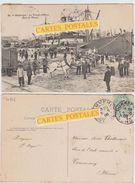DUNKERQUE Le Travail Au Port (bois De Mines) - Dunkerque