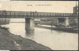 CPA   Tamines   Le Pont Sur La Sambre  (petite Encoche à Gauche) - Namur