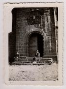 Photographie Ancienne Femmes Devant Chapelle St Leon A Dabo (photo 270) - Places