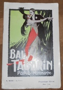 Programme Du Bal Tabarin - Programs