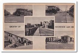 Noordwijk Aan Zee, Groeten Uit ( Rechterkant Geknikt ) - Noordwijk (aan Zee)