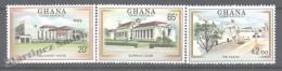 Ghana 1980 Yvert 681-83, 3rd Republic - MNH - Ghana (1957-...)