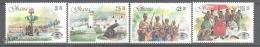 Ghana 1986 Yvert 910-13, Inter-Tourism ´86  - MNH - Ghana (1957-...)