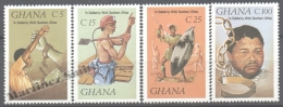 Ghana 1987 Yvert 932-35, In Solidarity With Southern Africa - MNH - Ghana (1957-...)