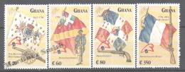 Ghana 1989 Yvert 996-99, Bicentenary French Revolution, Philexfrance ´89 - MNH - Ghana (1957-...)