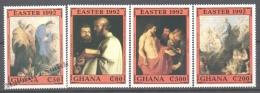 Ghana 1992 Yvert 1346-49, Easter, Paintings (II) - MNH - Ghana (1957-...)