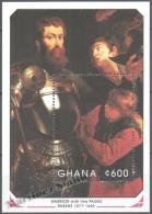 Ghana 1990 Yvert BF 161, 350th Ann. Death Of Paintor Rubens, Art (II) - Miniature Sheet - MNH - Ghana (1957-...)