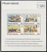 Pitcairn Islands - XX - London 1980 - Michel Bl 6 - Cote 2.20 - Poste
