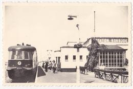 Koksijde: Station Met Trein. - Koksijde