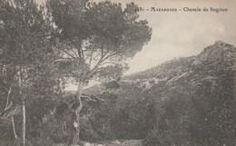 CPA 13 MARSEILLE MAZARGUES CHEMIN DE SUGITON PEU COURANTE - Quartiers Sud, Mazargues, Bonneveine, Pointe Rouge, Calanques