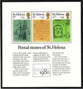 St Helena - XX - London 1980 - Michel Bl 5 - Cote 1.60 - Poste