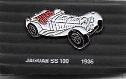 PINS AUTOMOBILE JAGUAR SS 100  1936   / 33NAT - Jaguar