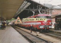 """Loco BB 9292 Avec 1er Train """"Capitole"""" Toulouse-Paris, à Toulouse (31) - - Gares - Avec Trains"""