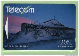 New Zealand - 1991 Antarctic - Ross Dependency - $20 Scotts Hutt - NZ-G-41 - VFU - Neuseeland