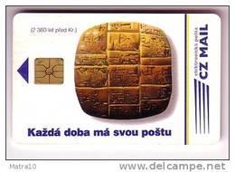TCHEQUIE CZECH CECA 1995 ALPHABET CUNEIFORME TABLETTE SUMER BABYLON ASSYRIA CUNEIFORM ALFABETO - Culture