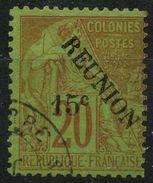 Reunion (1891) N 30 (o) - Réunion (1852-1975)