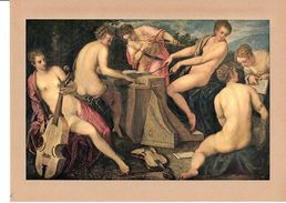 """Reproduction Ancienne """"Musiciennes"""" De TINTORETTO  Ft 16,5 X 25,5 Cm - Stiche & Gravuren"""