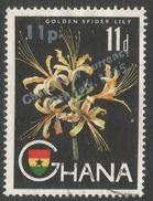 Ghana. 1965 New Currency O/P. 11p On 11d Used. SG 386 - Ghana (1957-...)