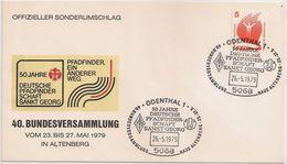 Deutschland Cover FDC 1979 - 50 Jahre Deutsche Pfadfinderschaft Sankt Georg - Scoutisme - Jamboree - Scouting - Scouts - Scoutisme