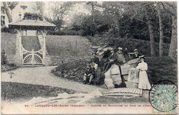 LAMALOU LES BAINS - Groupe De Baigneurs Au Parc   (98475) - Lamalou Les Bains