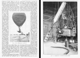LES EXPERIENCES DE MM. DE LA VAUX Et HERVE ( AEROSTAT)    1904 - Transportation