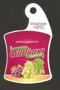 # UVA DI PUGLIA GIULIANO GRAPE Italy Fruit Tag Balise Etiqueta Anhänger Cartellino Raisin Uvas Traube - Fruits & Vegetables